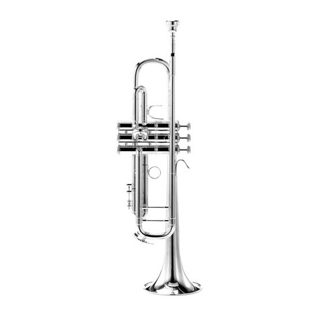 Trompeta Bach 180 ML 37 Plateada