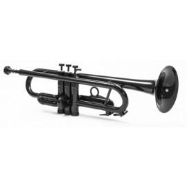 Trompeta Tromba SIB Negra