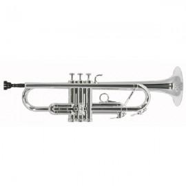 Trompeta Tromba Sib Plateada