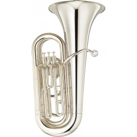 Tuba Yamaha YBB-105S Plateada