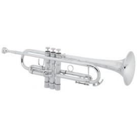 La imagen pertenece a trompeta Conn Sib 52-BSP CONNstellation plateada