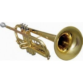 Trompeta Fides Sib Primera Pocket Plateada