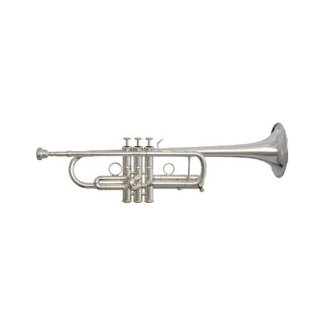 Trompeta Fides Sib ML Pioneer Plateada