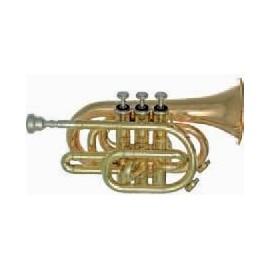 Trompeta Fides Sib Pioneer Pocket Plata Estandar