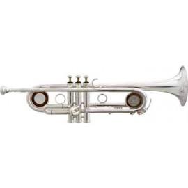 Trompeta Fides Sib L Universal Plateada