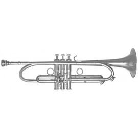Trompeta Fides Symphony LT ML Plateada BBG