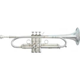 Trompeta Fides Symphony Heavy ML Plateada BBG