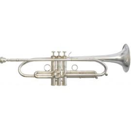 Trompeta Fides Symphony Do LT ML Plateada
