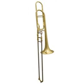 Trombón de Varas Fides Symphony Sib/Fa Abierto Lacado