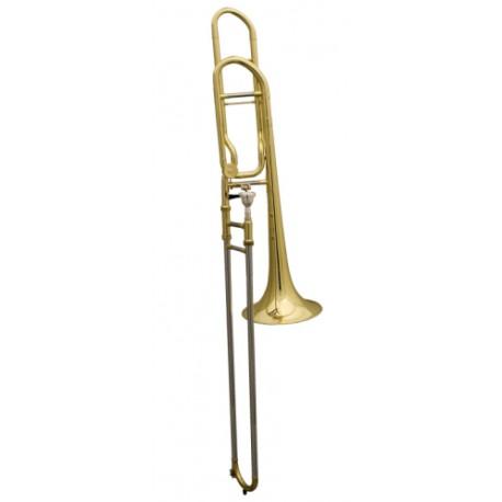 Trombón de Varas Fides Symphony Sib/Fa Cerrado Lacado