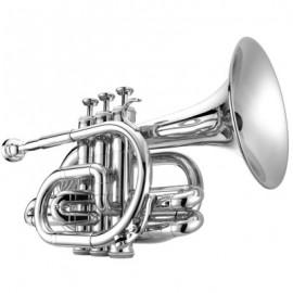 Trompeta pocket Jupiter Sib JTR710S Plateada