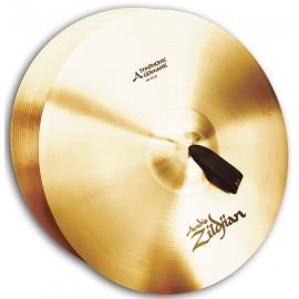 "Platos Zildjian symphonic 20"" AZ German Tone Par"