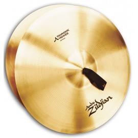 "Platos Zildjian symphonic 20"" AZ Viennese Tone Par"