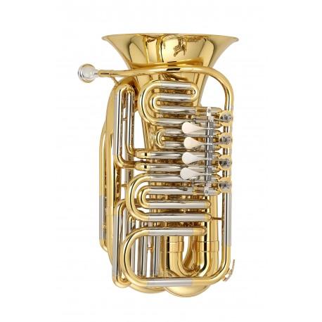 Mini Tuba Do Plateada