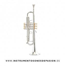Trompeta Stomvi Forte Sib con Tapones Oro
